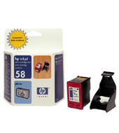 C6658 - No 58 Photo Colour Cartridge