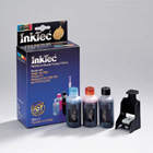 HPI5058P  InkTec Refill for No 58 colour inkjet cartridge C6658